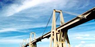 puente Lago de Maracaibo cerrado