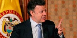 candidato Juan Manuel Santos