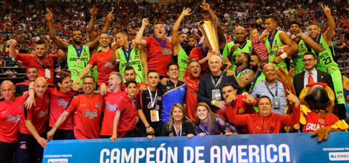Guaros partió a Europa para participar en la Copa Intercontinetal