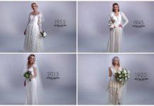 Evolución de los vestidos de novia en los últimos 100 años
