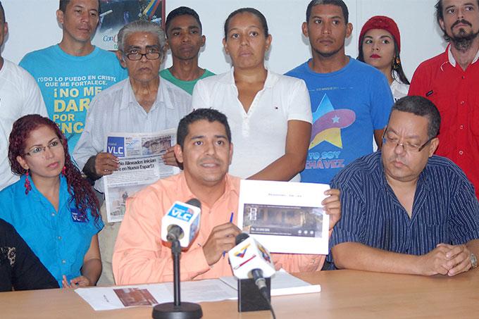 """Asociación Civil """"Comunicadores por una Vivienda Digna"""" solicitaron ayer la inclusión, como colectivo en los programas de construcción y autoconstrucción"""