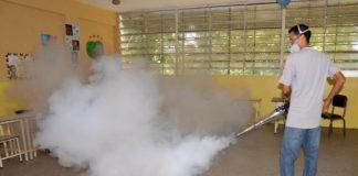 Fumigación escuelas