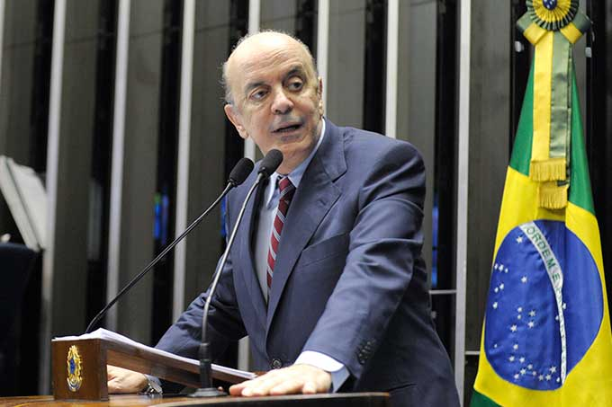 Canciller de Brasil Jose Serra