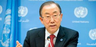 Ban Ki-moon estará presente en la firme del acuerdo de la paz en Colombia