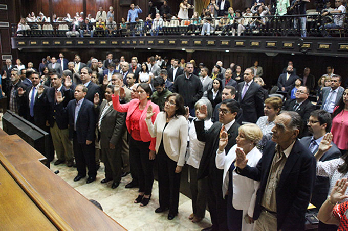 Juramentacion Comite postulaciones electorales