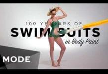 100 años de trajes de baño