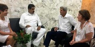 Presidente Nicolás Maduro se reunió con el secretario de EE.UU