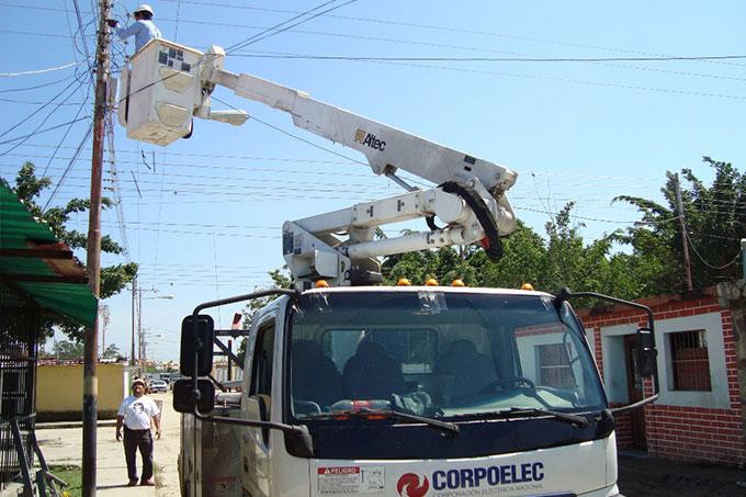 Corpoelec realizará mejoras eléctricas en municipios de Carabobo