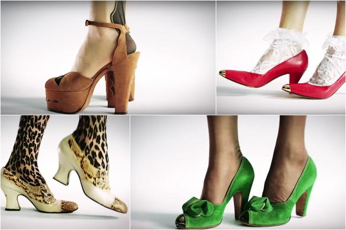 100 años de moda en zapatos
