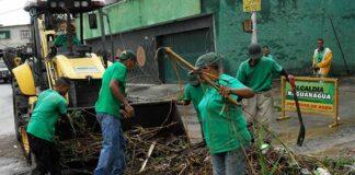 Alcaldía realizó limpieza de alcantarillas y drenajes