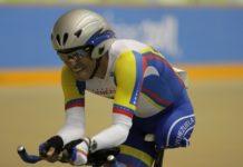 Atleta venezolano Cirio Molina