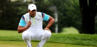 Golfista Jhonattan Vegas