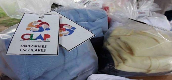 kit uniformes escolares