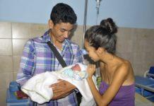 Anderson Josué, primer bebé nacido en el Ambulatorio San Joaquín