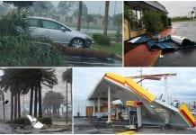 Paso del huracán Matthew por Florida