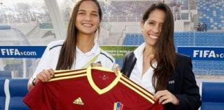 Camiseta número 9 de Deyna Castellanos entró al museo de la FIFA