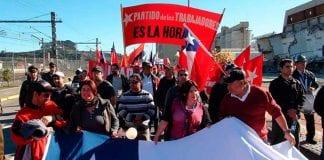 trabajadores chile