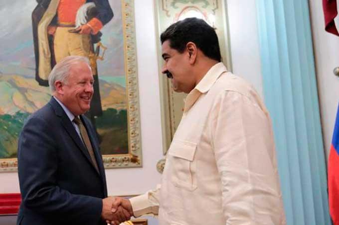 Subsecretario de EEUU se reunió con Maduro