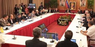 Dialogo gobierno y oposicion