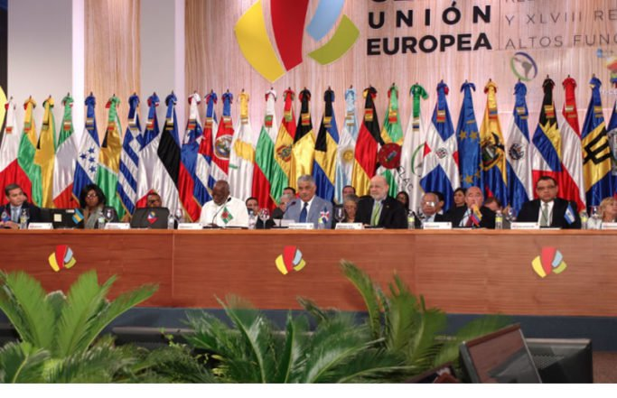 Union Europea y Cancilleres de la Celac