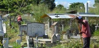 Mantenimiento de cementerios