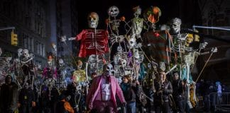 desfile Halloween Nueva York