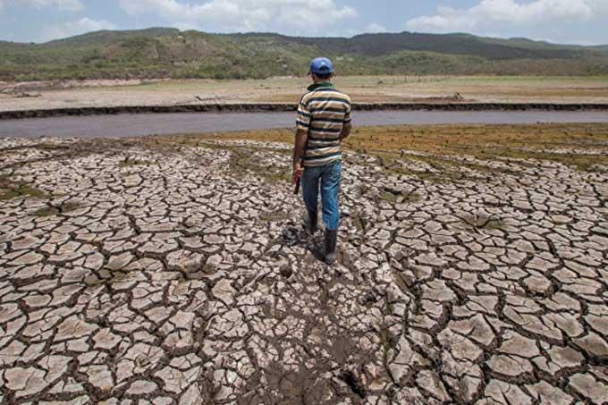 Bolivia sequía