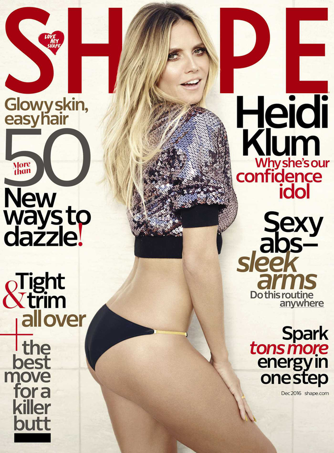 Heidi Klum shape