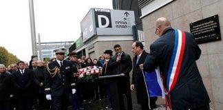 conmemoracion atentados en Paris