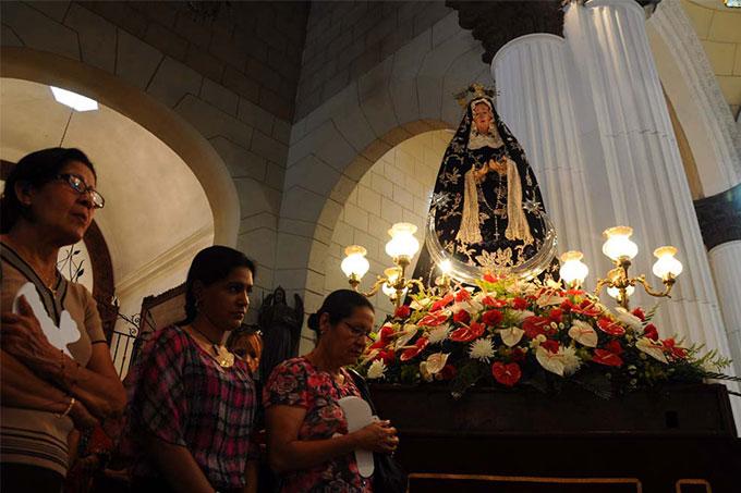 misa Virgen del Socorro
