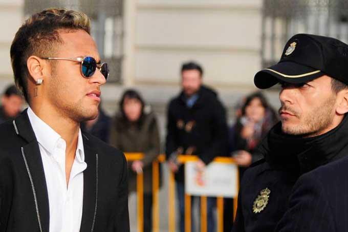 brasileño Neymar