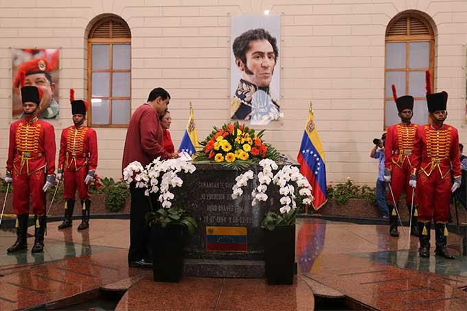 homenaje chavez