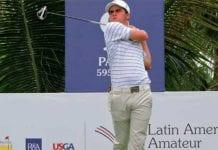 Golfistas venezolanos