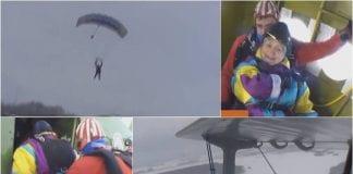 abuela en paracaídas