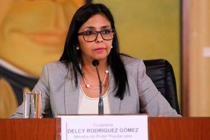 Canciller venezolana Gobierno