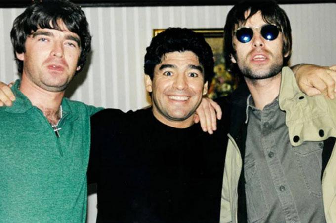 Maradona y Oasis