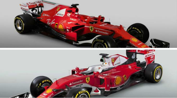 monoplaza de la escudería Ferrari