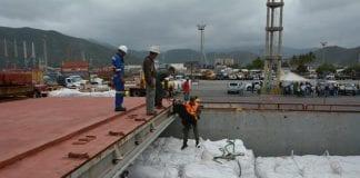 fertilizante arribaron a Puerto Cabello