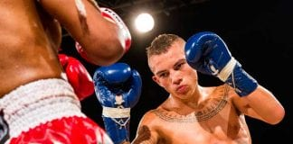 joven luchador