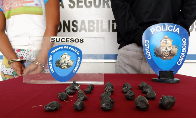 PoliCarabobo detuvo a cinco presuntos microtraficantes en Valencia y Bejuma