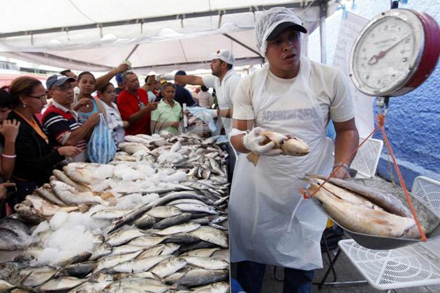 feria del pescado