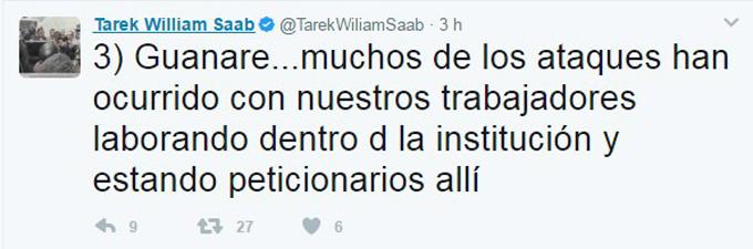 Saab denunció ataques a sedes de la Defensoría en el país - N24C 3