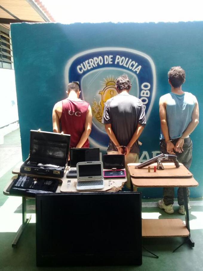 presuntos delincuentes