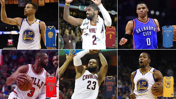 camisetas vendidas NBA