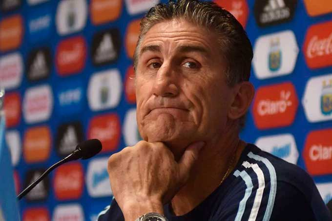Selección Argentina despidió a Edgardo Bauza
