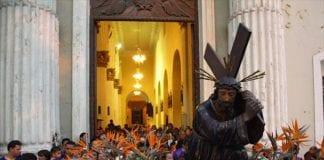 tradicional procesión del Nazareno