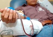 Donante de sangre