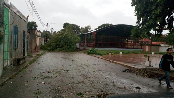 Nueva Esparta tormenta Bret (1)