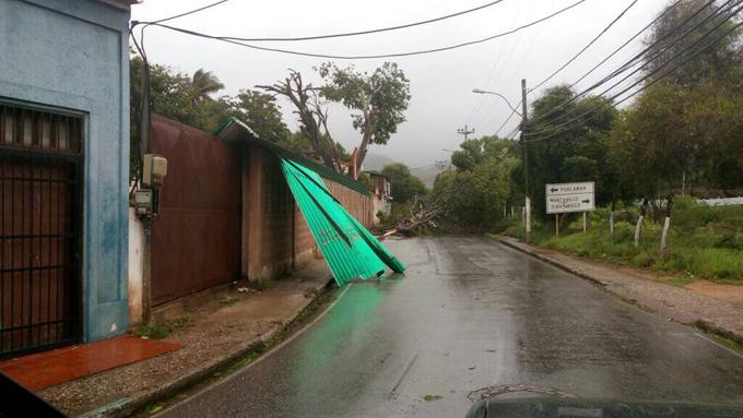 Nueva Esparta tormenta Bret