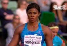 Atleta nigeriana
